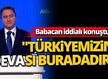 Ali Babacan DEVA Partisi'nin açılışında konuştu
