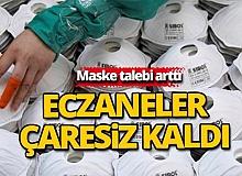 Antalya'da eczaneler maske bulamamaktan şikayetçi