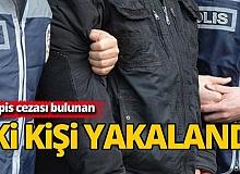 Antalya'da hapis cezası bulunan iki kişi yakalandı