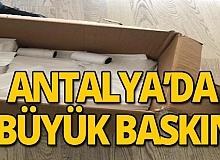 Antalya'da yüklü miktarda sahte maske ve kaçak akaryakıt ele geçirildi