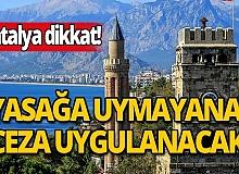 Antalya İl Umumi Hıfzıssıhha Kurulu'nda önemli kararlar alındı!