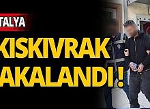 Antalya'da ticari taksilerin içindeki paraları alan şüpheli yakalandı