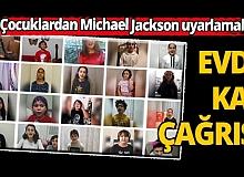 Antalyalı çocuklardan Michael Jackson uyarlamalı 'evde kal' klibi