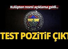 Fenerbahçe Kulübü'nden resmi açıklama!