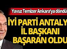 İYİ Parti Antalya İl Başkanı Mehmet Başaran oldu