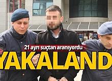 Manavgat'ta 21 suçtan aranan cezaevi firarisi yakalandı