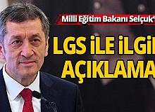 Milli Eğitim Bakanı Selçuk'tan LGS başvuruları ile ilgili önemli açıklama