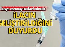 Rusya yeni tip coronayı tedavi edecek ilacın geliştirildiğini duyurdu