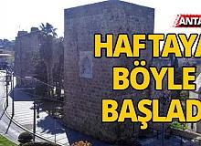 Turizm kenti Antalya haftaya böyle başladı