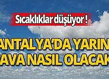 15 Nisan Çarşamba günü Antalya'da hava nasıl olacak?