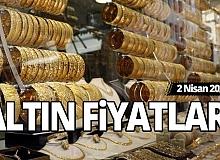 2 Nisan gram, çeyrek, yarım, tam altın fiyatları