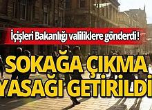 Hafta sonu için 30 büyükşehir ile Zonguldak'a sokağa çıkma yasağı getirildi