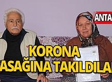 72 yaşındaki Sait dedenin resmi nikahı Korona virüs yasağına takıldı