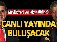 Mevlüt Yeni ve  Antalya Kepez Belediye Başkanı Tütüncü corona virüsü ile mücadele için canlı yayında buluşuyor