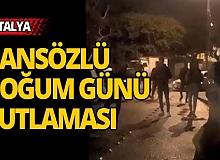 Antalya'da dansözlü kutlamaya ceza