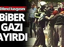 Antalya'da dilenciler kavga etti