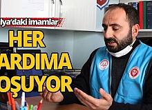 Antalya'daki imamlar boş durmuyor