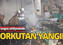 Antalya korkutan yangın!