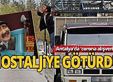 Antalya'da 'corona alışverişi' nostaljiye götürdü