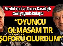 Başkan Mevlüt Yeni ve  Tamer Karadağlı canlı yayında soruları cevapladı