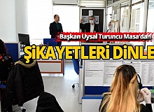 Başkan Uysal Turuncu Masa'dan komşularının şikayetlerini dinledi