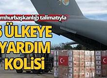 Cumhurbaşkanı Erdoğan'ın talimatıyla 5 ülkeye sağlık ekipmanları ulaştırılacak