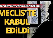 Mahkumların beklediği af düzenlemesi Meclis'te kabul edildi