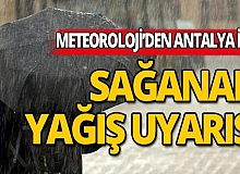 Meteoroloji uyardı: Sağanak yağış geliyor!