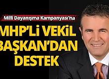 'Milli Dayanışma Kampanyası'na MHP'den destek