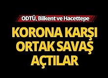 ODTÜ, Bilkent ve Hacettepe'den ortak çalışma