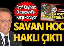 Prof. Dr. Mehmet Ceyhan uyardı: Savan hoca haklı çıktı!