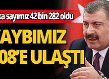 Türkiye'de son 24 saatte 96 kişi hayatını kaybetti