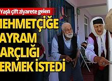 65 yıllık evli çiftin, Mehmetçiğe 'Bayram Harçlığı' vermek istedi
