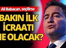 Ali Babacan, seçilirse yapacağı ilk icraatı açıkladı