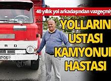 Antalya'da 54 yaşındaki kamyonuna gözü gibi bakıyor
