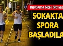 Antalya'da kısıtlamanın ardından gece yarısı vatandaş sokağa döküldü