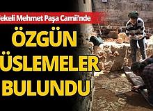 Antalya Tekeli Mehmet Paşa Camii'nde tarihe ışık tutacak kalıntılar bulundu