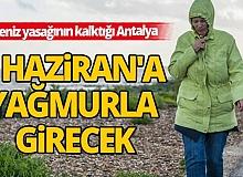 Antalya'yı yarın gök gürültülü sağanak yağış bekleniyor