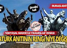 Antalya Cumhuriyet meydanındaki Atatürk Anıtını bu hale kim getirdi?