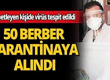 Berberleri denetleyen sağlık çalışanı korona çıktı, 50 berber karantinaya alındı