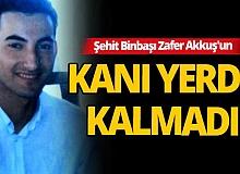 Binbaşı Zafer Akkuş'u şehit eden 'Kendal' kod adlı terörist öldürüldü