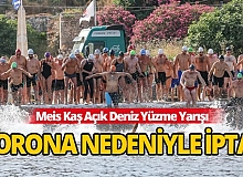 Meis Kaş Yüzme Yarışı'na korona engeli