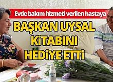 Muratpaşa Belediyesi Başkanı Uysal'dan hasta ziyareti