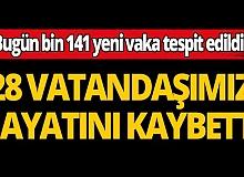 Türkiye'de 24 saatte 28 vatandaşımız hayatını kaybetti