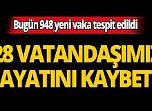 Türkiye'de son 24 saatte 28 kişi hayatını kaybetti
