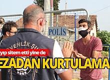 Zeytinköy'e girmeye çalışırken yakalandı