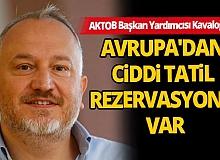 """AKTOB Başkan Yardımcısı Kavaloğlu: """"Türkiyesiz bir turizm artık dünyada olamaz"""""""