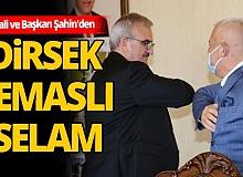 ALTSO'dan Vali Münir Karaloğlu'na teşekkür plaketi