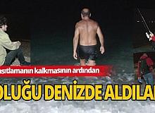 Antalya'da kısıtlamanın sona ermesiyle denize akın ettiler