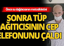 Antalya'da telefon hırsızını vatandaşlar yakaladı
